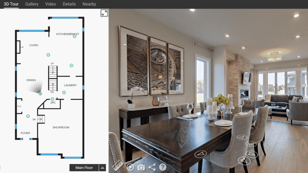 iGuide Floor Plan and Virtual Tour